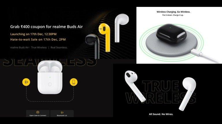 Realme Buds Air. Vídeo oficial dos concorrentes aos Xiaomi Mi True Wireless revelado
