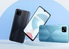 Realme C21. Este é o novo smartphone barato e bom por 100 €