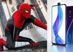 Realme X ganha edição especial do Homem-Aranha