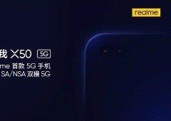 Realme X50 5G tem especificações reveladas e chega com uma surpresa!