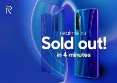 Realme XT estreia-se em grande e esgota em apenas 4 minutos!
