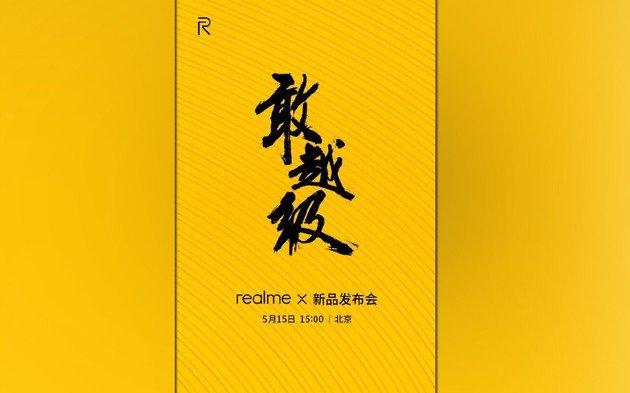 Realme X apresentação China