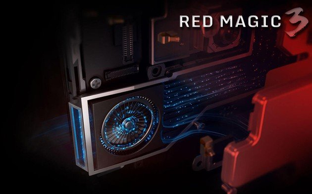 Nubia Red Magic 3 ventoinha