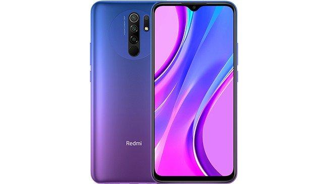 Telemóvel Redmi 9 em púrpura
