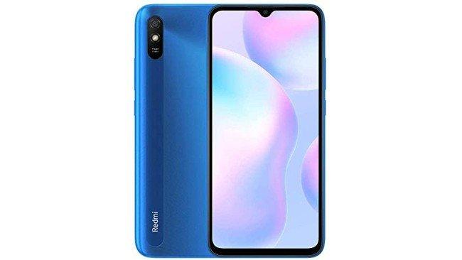telemóvel Xiaomi Redmi 9A em azul