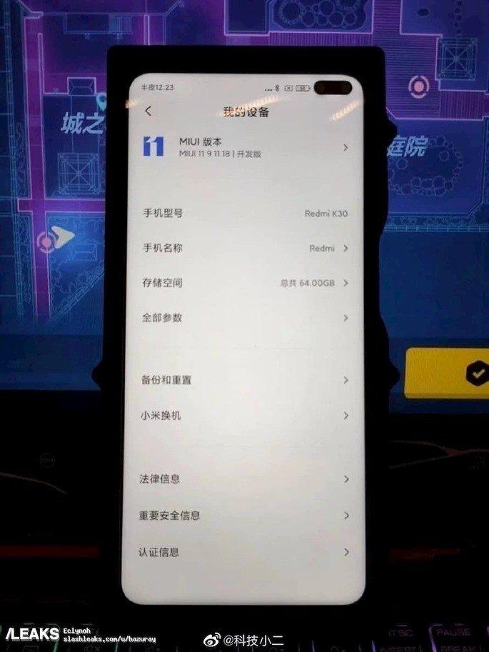Xiaomi Redmi K30 Xiaomi Mi 10T