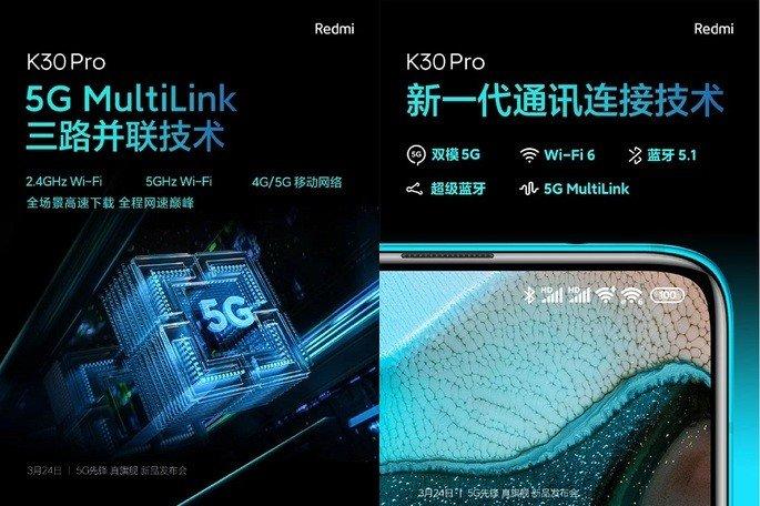 Redmi K30 Pro conectividade