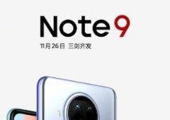 Redmi Note 9 com 5G chegam oficialmente a 26 de novembro: o que esperar