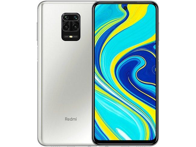 Telemóvel Redmi Note 9S em branco