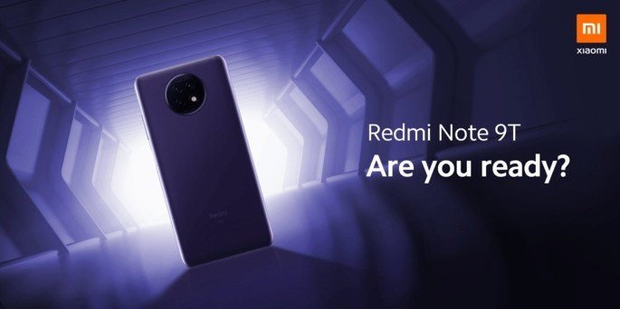 Este é o Redmi Note 9T