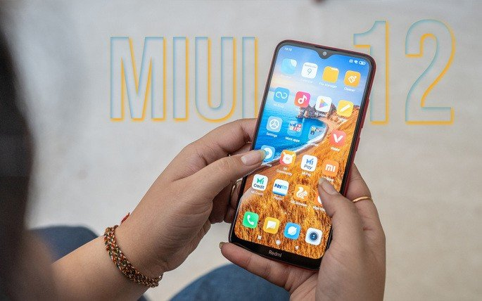 Xiaomi Redmi 8A MIUI 12