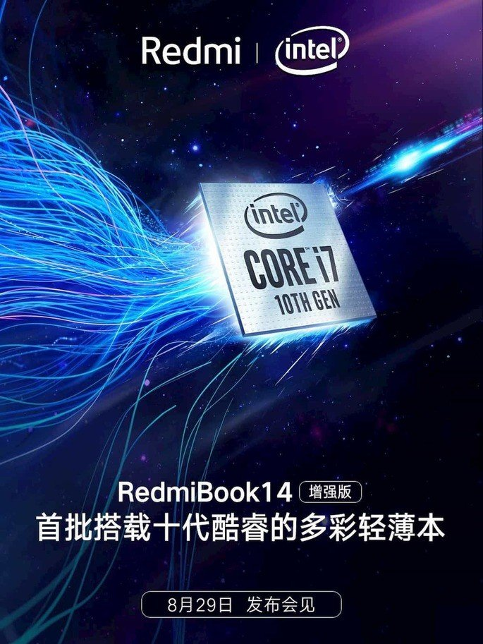 redmibook 14 intel comet lake
