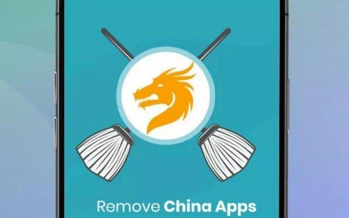 Remove apps da China