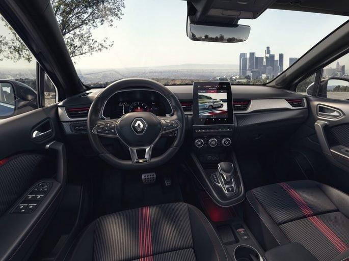 O interior do Renault Captur R.S. Line