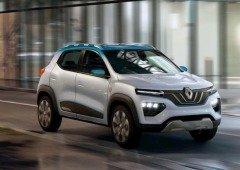 Renault City K-ZE poderá chegar pela DACIA! Um carro elétrico por 12 mil Euros!