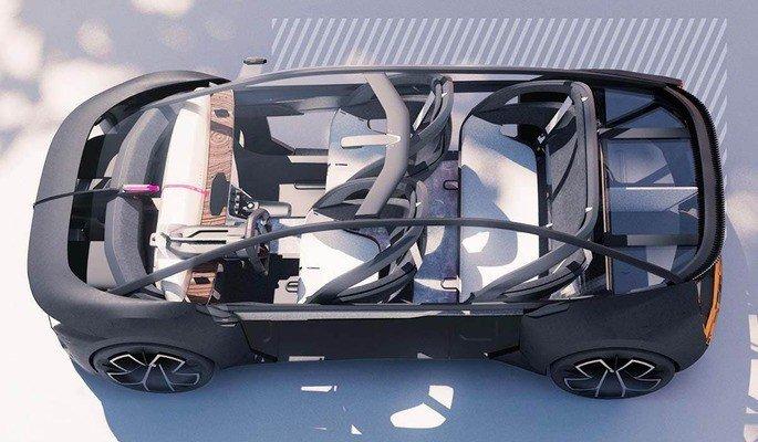 Conceito de Renault Clio 6 elétrico