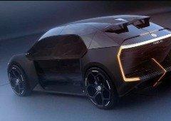 Renault Clio elétrico futurista: este pode ser o seu design