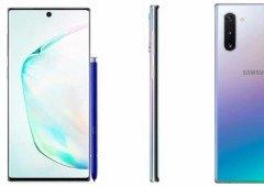 Reveladas (quase) todas as especificações do Samsung Galaxy Note 10 e Note 10+