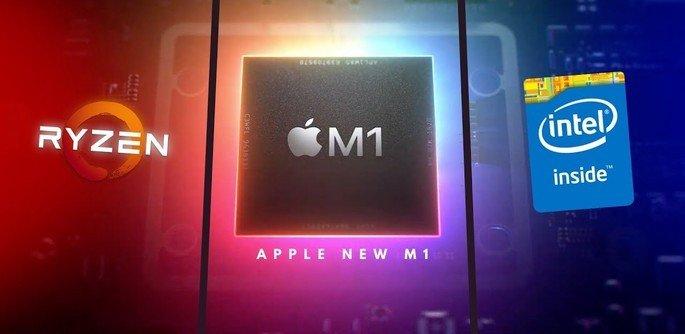 Apple Intel Amd Rivalidade