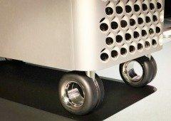 Rodas de 480€ para o MacPro da Apple não têm travões! O resultado é hilariante (vídeo)