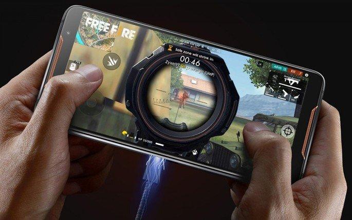 ASUS ROG Phone, com ecrã de 90Hz