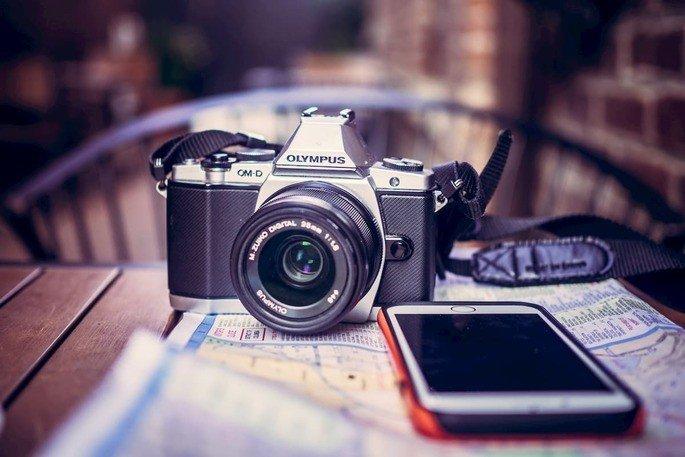 Câmara fotográfica Olympus