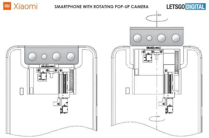 Nova patente da Xiaomi. Crédito: LetsGoDigital