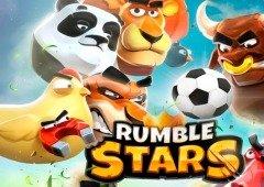 Rumble Stars: Clash Royale com bolas de futebol!