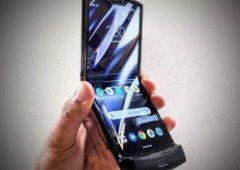 """""""Saliências no ecrã são normais"""" diz a Motorola sobre o dobrável Razr"""