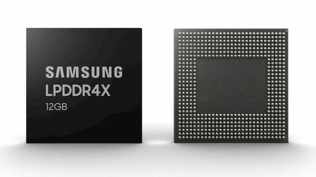 Samsung revela DRAM de 12GB do Galaxy S10+