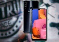 Samsung anuncia o Galaxy A20s discretamente através de um infográfico