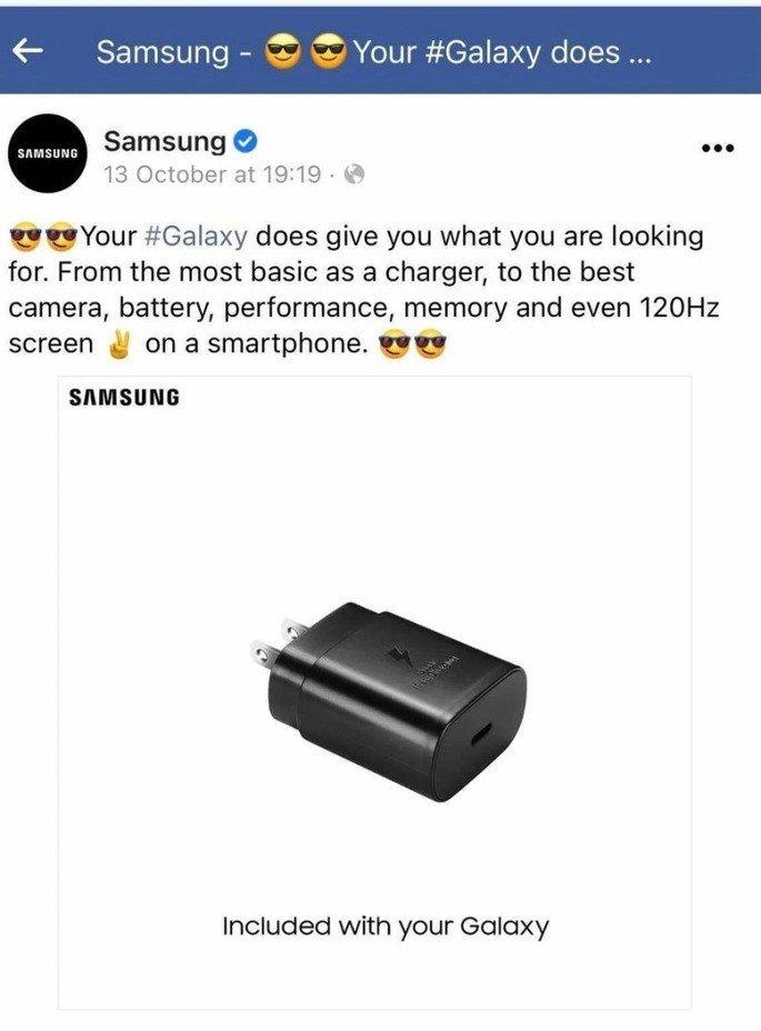 Samsung facebook
