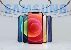Samsung faz o mesmo que a Xiaomi e ataca a Apple e o seu iPhone 12!
