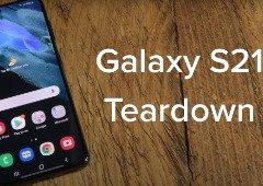 """Samsung Galaxy 21 leva """"nega"""" em teste de reparação"""