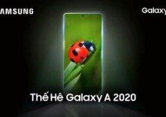 Samsung Galaxy A (2020): foi revelada data de apresentação dos primeiros modelos!