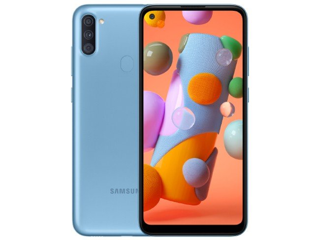 Telemóvel Samsung Galaxy A11 em azul