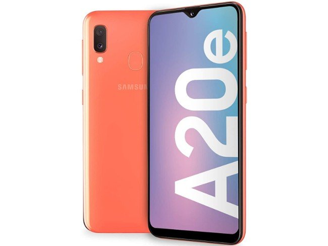 Telemóvel Samsung Galaxy A20e em coral