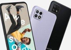 Samsung Galaxy A22 5G e Galaxy A22 são oficiais! 5G e ecrã em destaque
