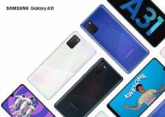 Samsung Galaxy A31 chega a Portugal com uma super bateria e um preço apelativo