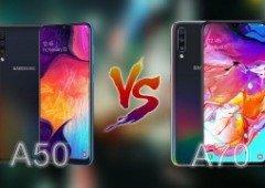 Samsung Galaxy A50 e Galaxy A70: qual deves comprar?