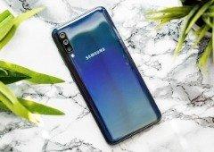 Samsung Galaxy A50 vai receber Modo Noite e Super Slow Motion na próxima atualização