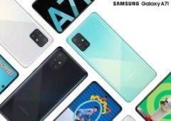 Samsung Galaxy A51 e A71 têm preços confirmados oficialmente para a Europa