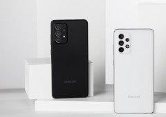 Samsung Galaxy A52, A52 5G e Galaxy A72 já disponíveis na Amazon