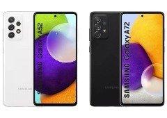 Samsung Galaxy A52 vs Galaxy A72: conhece as diferenças