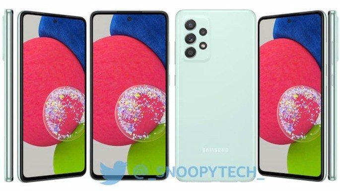 Samsung Galaxy A52s terá versão em menta
