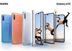 """Samsung Galaxy A70 recebe nova atualização com """"super estabilização de vídeo"""""""
