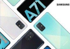 """Samsung Galaxy A71 5G é oficial! Conhece o """"topo de gama"""" desta família de smartphones"""