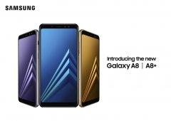 Samsung - Chegaram os Samsung Galaxy A8 e Galaxy A8+ 2018