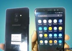 Samsung Galaxy A8 2018 completamente revelado em vídeo