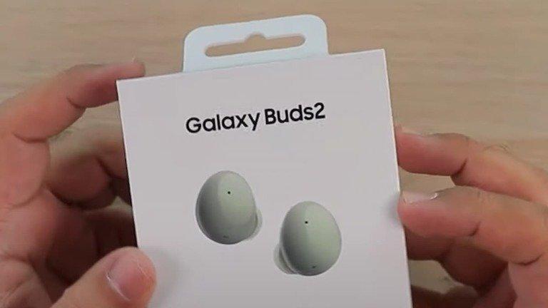 Samsung Galaxy Buds 2 em vídeo de unboxing antes da apresentação